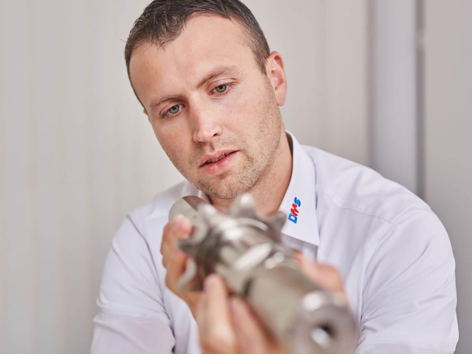 Seabstian Gruber, Vertriebsleiter DMS Technologie