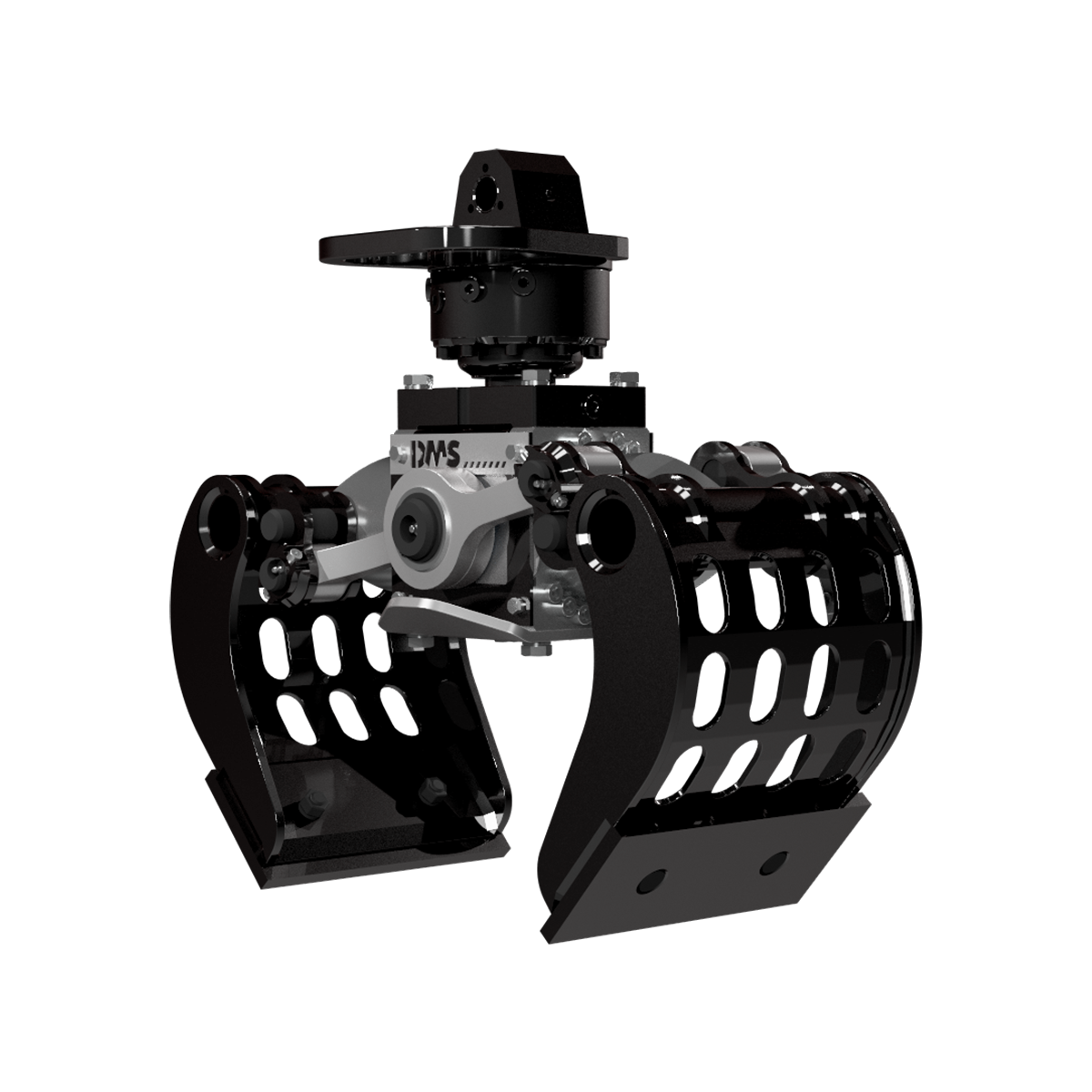 Ladekran Abbruchgreifer AG2030p von DMS Technologie