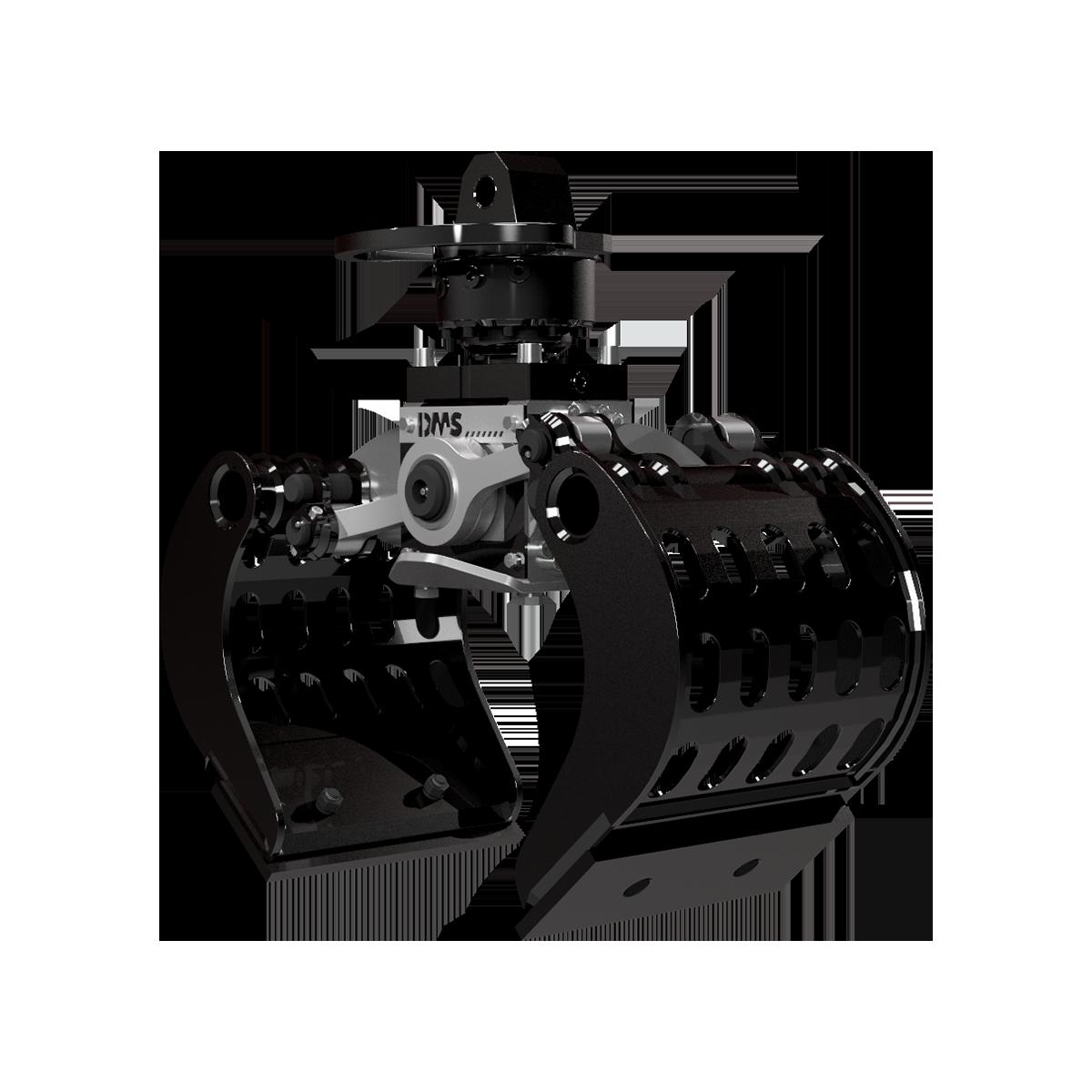 Ladekran Abbruchgreifer AG3535p von DMS Technologie