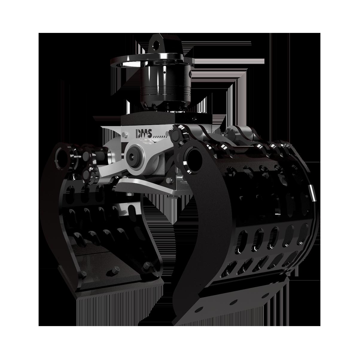 Ladekran Abbruchgreifer AG6040p von DMS Technologie