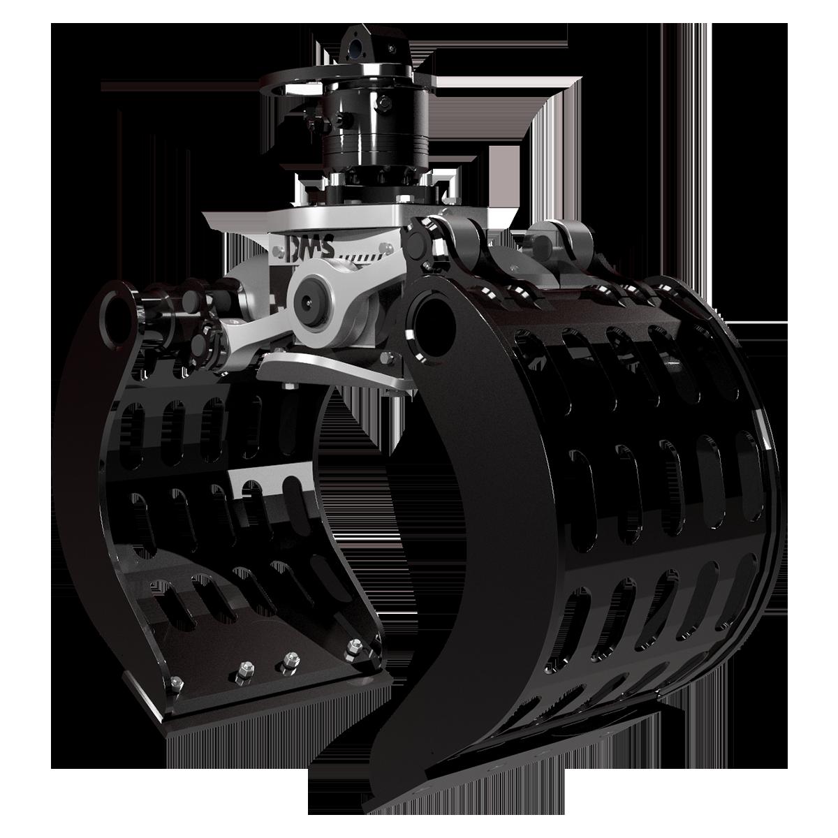 Ladekran Abbruchgreifer AG9050p von DMS Technologie