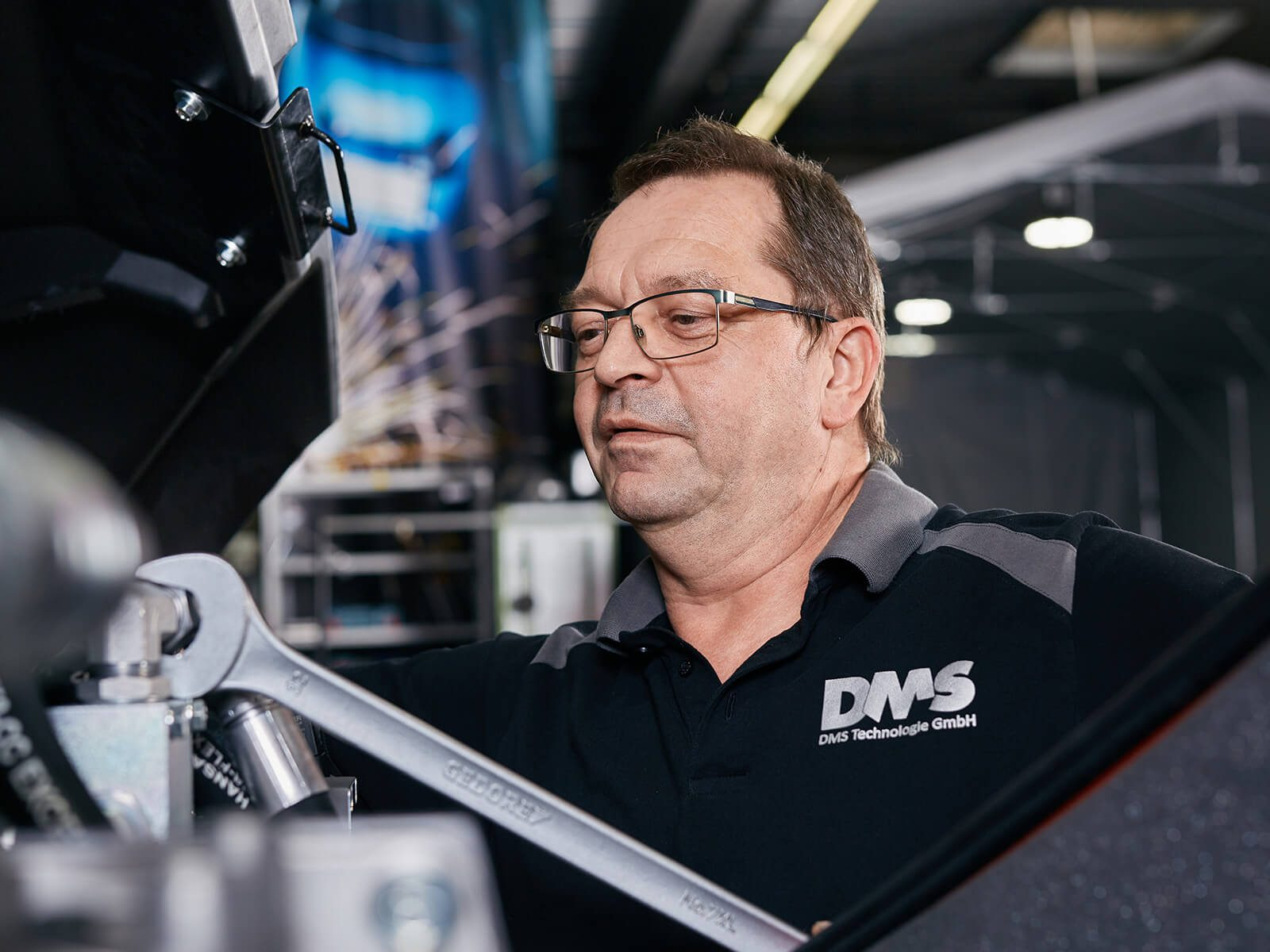 Veit Berg Entwicklung DMS Technologie